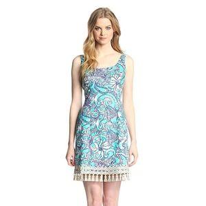 Lilly Pulitzer Eaton Shift Dress Montauk Sz. 10